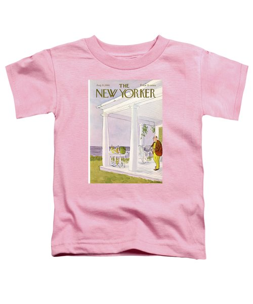 New Yorker August 31st, 1968 Toddler T-Shirt