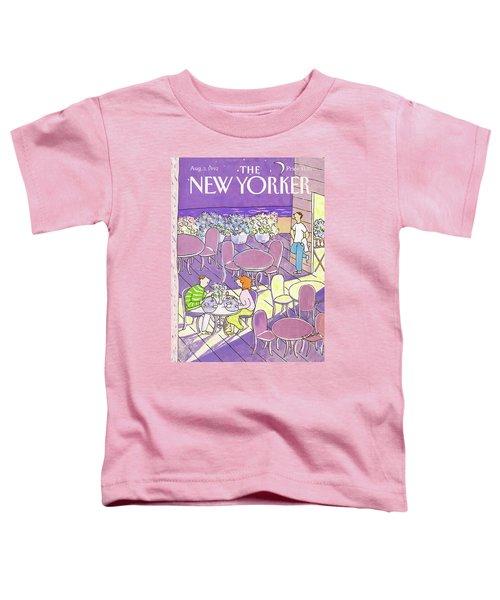 New Yorker August 3rd, 1992 Toddler T-Shirt