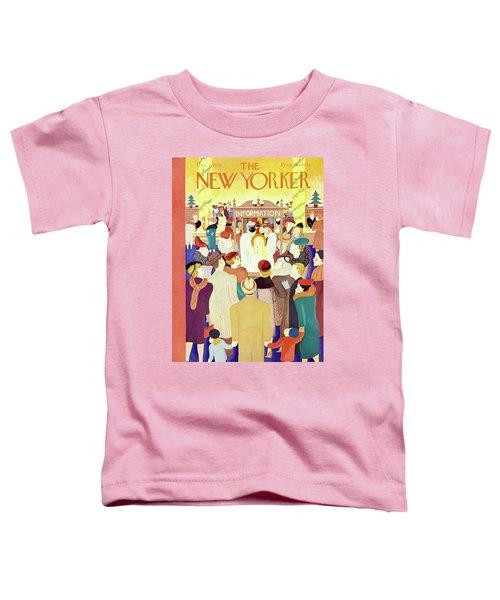 New Yorker December 2 1939 Toddler T-Shirt