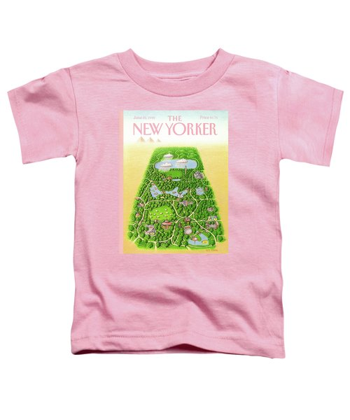 New Yorker June 25th, 1990 Toddler T-Shirt