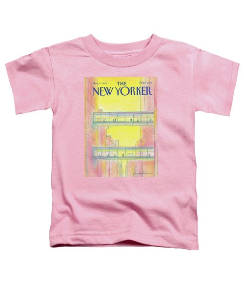 New Yorker March 4th, 1985 Toddler T-Shirt