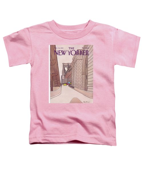 New Yorker November 14th, 1983 Toddler T-Shirt