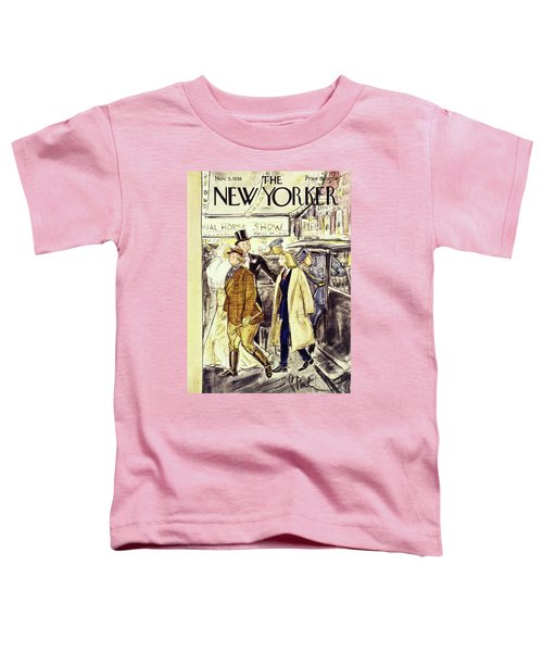 New Yorker November 5 1938 Toddler T-Shirt