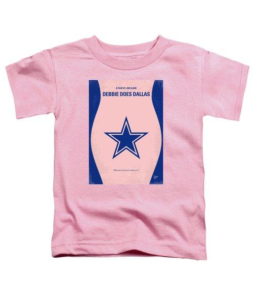 No302 My Debbie Does Dallas Minimal Movie Poster Toddler T-Shirt