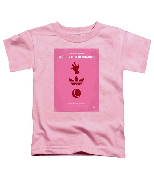 No320 My The Royal Tenenbaums Minimal Movie Poster Toddler T-Shirt