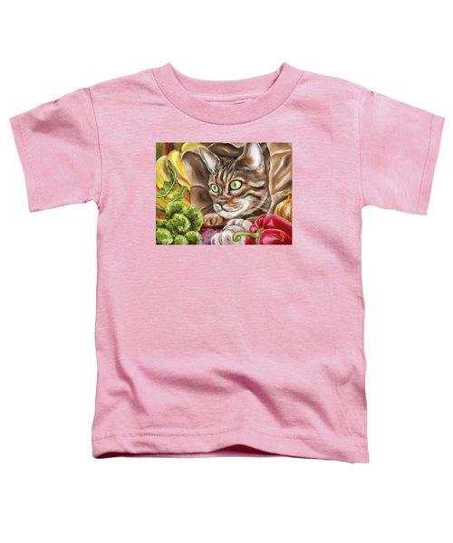 Ok Now What Toddler T-Shirt by Hiroko Sakai