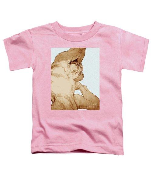 Olympic Athletics Discus Throw Toddler T-Shirt