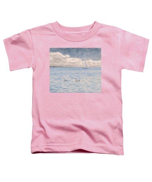 On A Summer's Breeze Toddler T-Shirt
