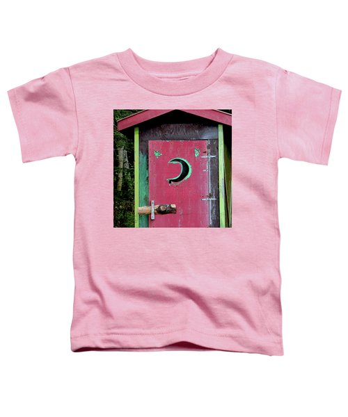 Painted Outhouse Toddler T-Shirt