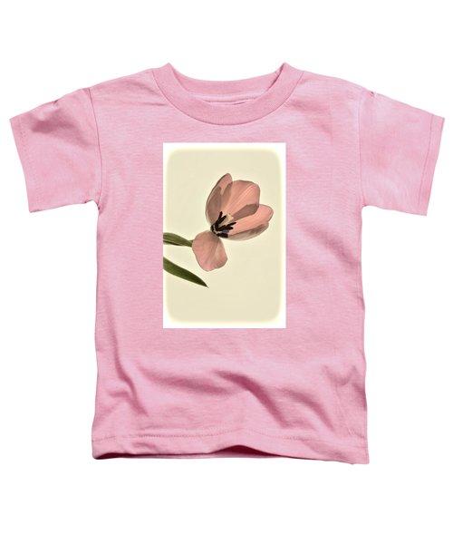 Pale Pink Tulip Toddler T-Shirt