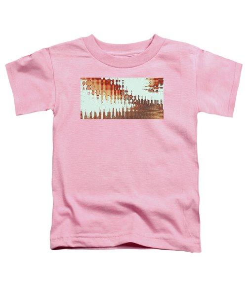 Panoramic City Reflection Toddler T-Shirt