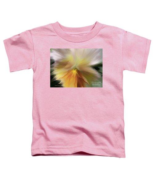 Pansy Art Toddler T-Shirt