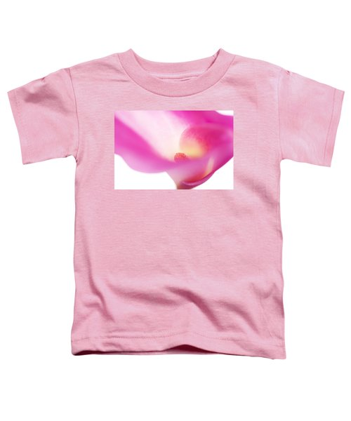 Passion For Flowers. Pink Veil Toddler T-Shirt
