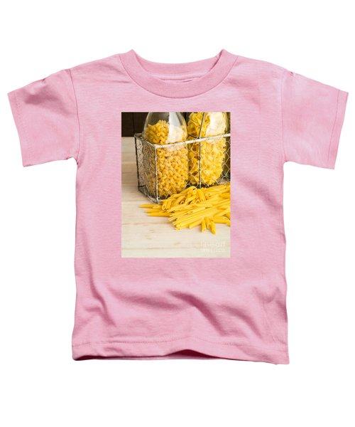 Pasta Shapes Still Life Toddler T-Shirt