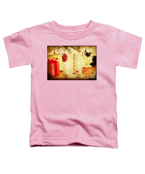 Peace And Joy To All Toddler T-Shirt