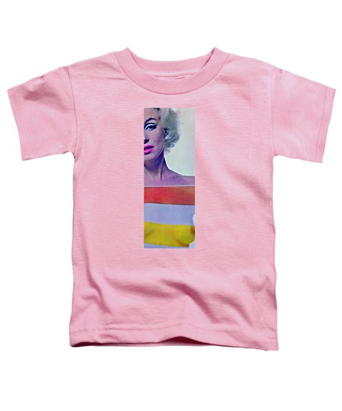 Peek A Boo Marilyn  Monroe Toddler T-Shirt