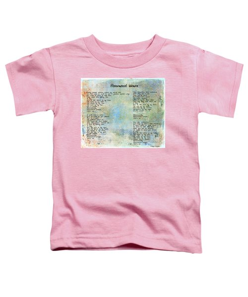 Phenomenal Woman - Blue Rustic Toddler T-Shirt