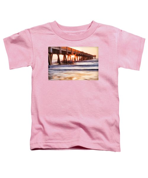 Pier Sunrise Too Toddler T-Shirt