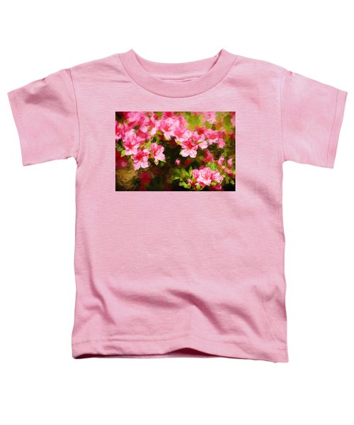 Pink Azealas Toddler T-Shirt