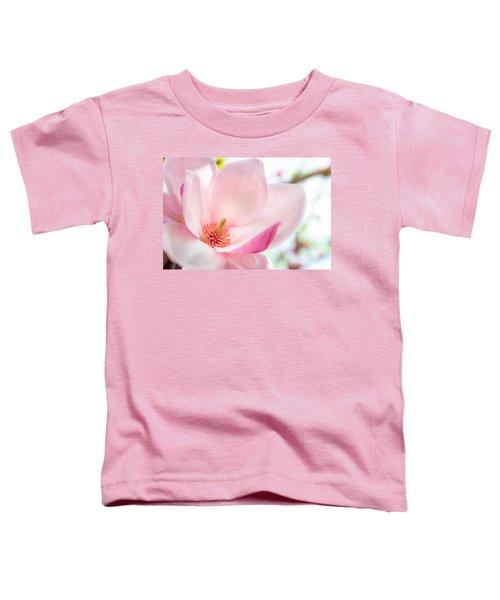 Pink Magnolia Toddler T-Shirt