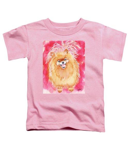 Pink Pom Toddler T-Shirt