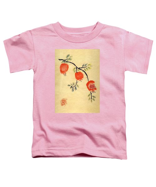 Pomegranates Toddler T-Shirt