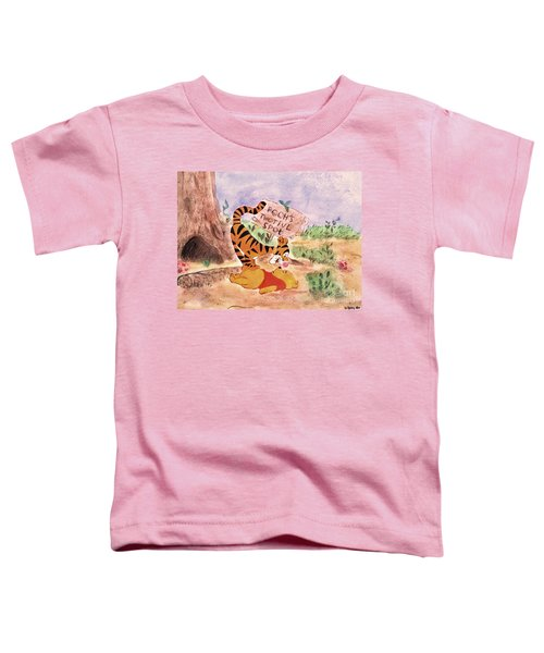 Pooh Bear Got Bounced Toddler T-Shirt