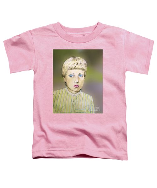 Portrait Of Justin Age 9 Toddler T-Shirt