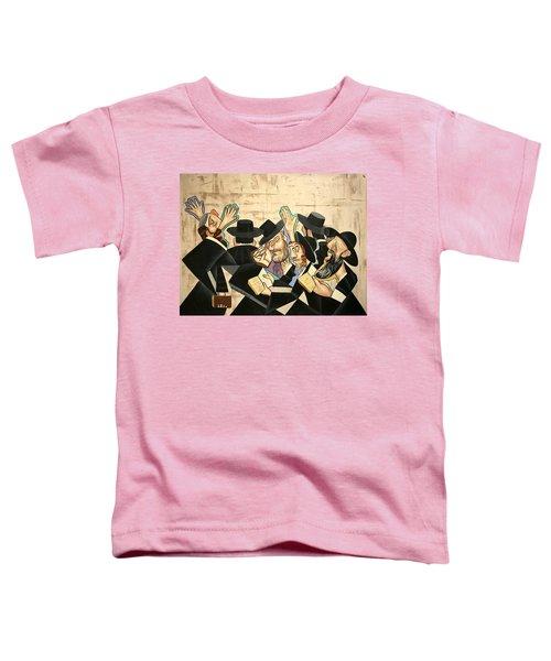 Praying Rabbis Toddler T-Shirt