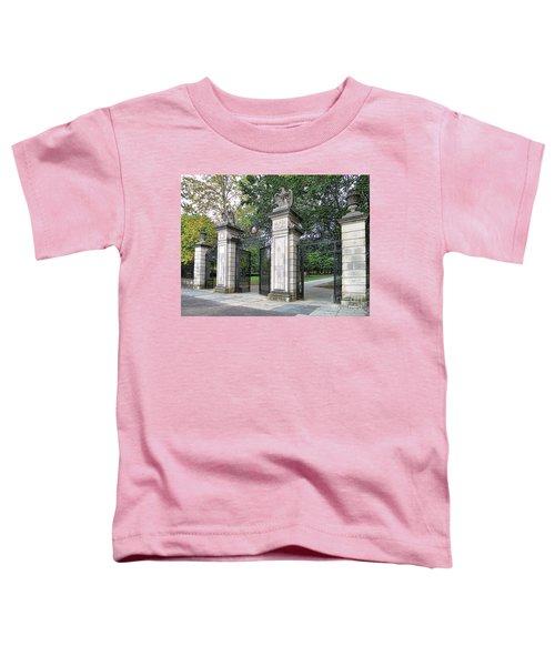 Princeton University Main Gate Toddler T-Shirt