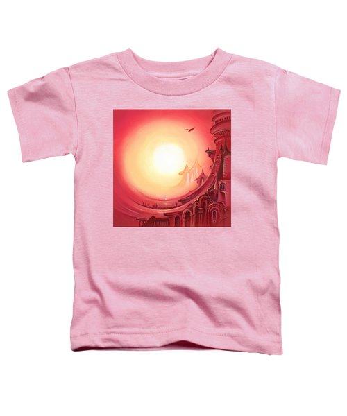 Purple Prayer Toddler T-Shirt