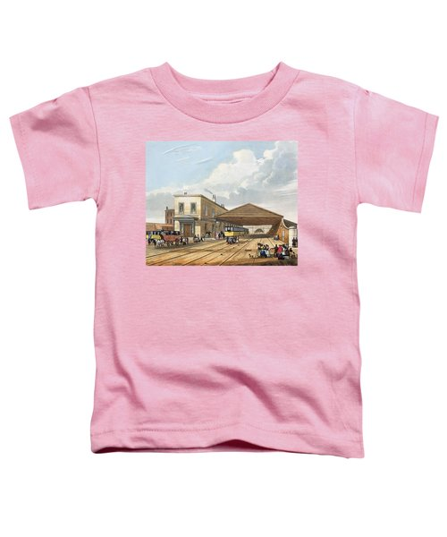 Railway Office, Liverpool, Plate 8 Toddler T-Shirt