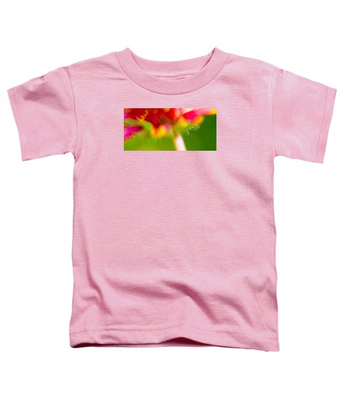 Rainbow Flower Toddler T-Shirt