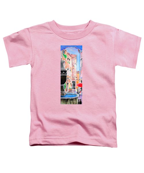 Raining In St-paul De Vence Toddler T-Shirt