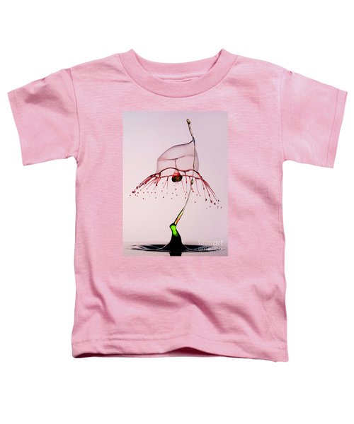 Toddler T-Shirt featuring the photograph Red And Green by Jaroslaw Blaminsky