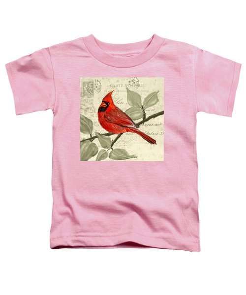 Red Melody Toddler T-Shirt