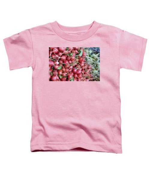 Red White And Blue At The Market Toddler T-Shirt