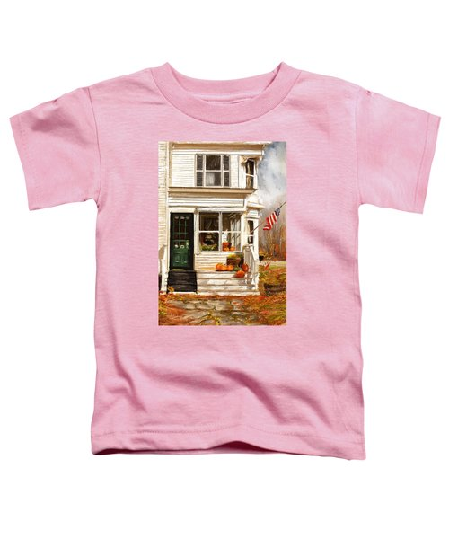 Remembering When- Porches Art Toddler T-Shirt