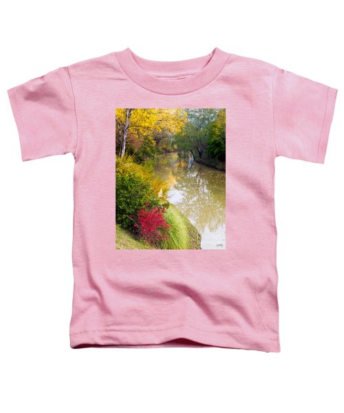 River With Autumn Colors Toddler T-Shirt