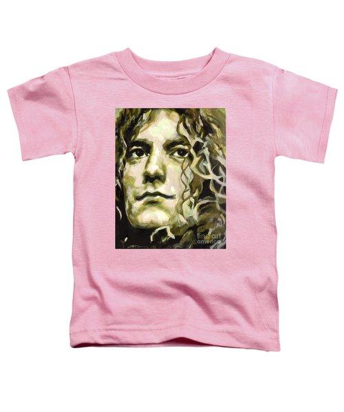 Robert Plant. Golden God Toddler T-Shirt