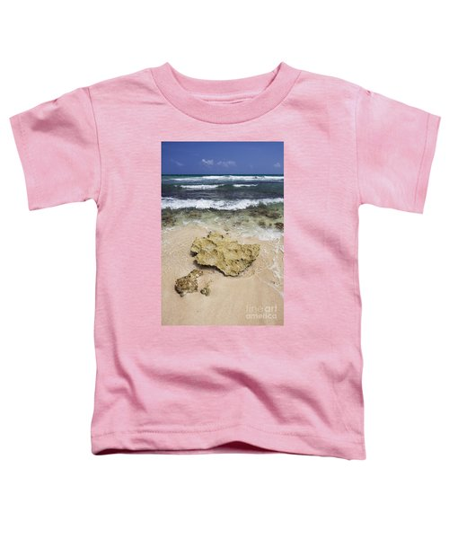 Rocky Shoreline In Tulum Toddler T-Shirt