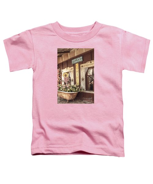 Rustic Country Welcome Toddler T-Shirt