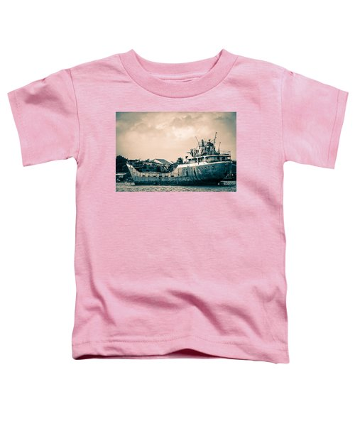 Rusty Ship Toddler T-Shirt