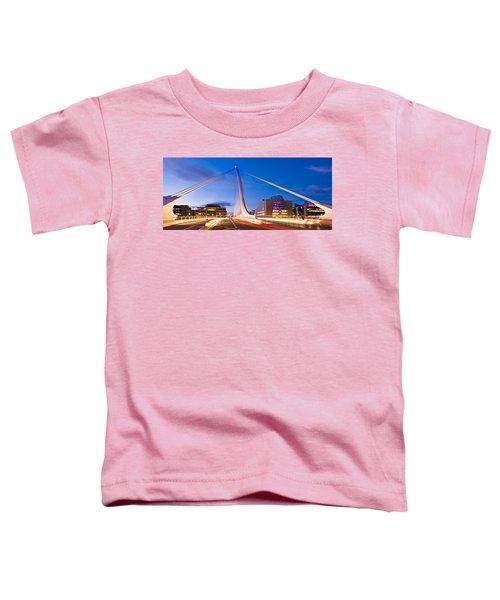 Samuel Beckett Bridge And National Conference Centre / Dublin Toddler T-Shirt