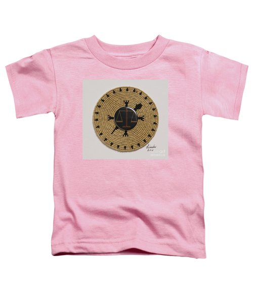 Scales Of Justice Toddler T-Shirt