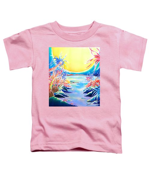 Seashore In The Moonlight Toddler T-Shirt
