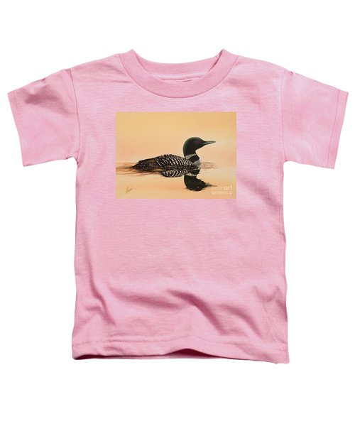 Serene Beauty Toddler T-Shirt by James Williamson