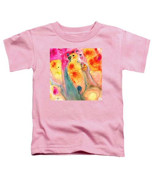 She Sings - Yellow Bird Art By Sharon Cummings Toddler T-Shirt