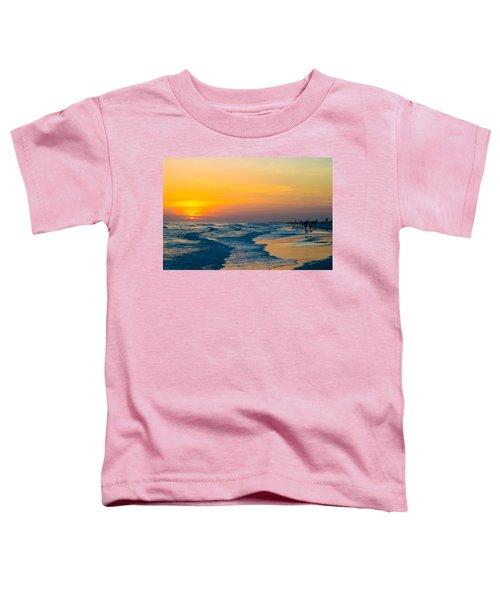 Siesta Key Sunset Walk Toddler T-Shirt