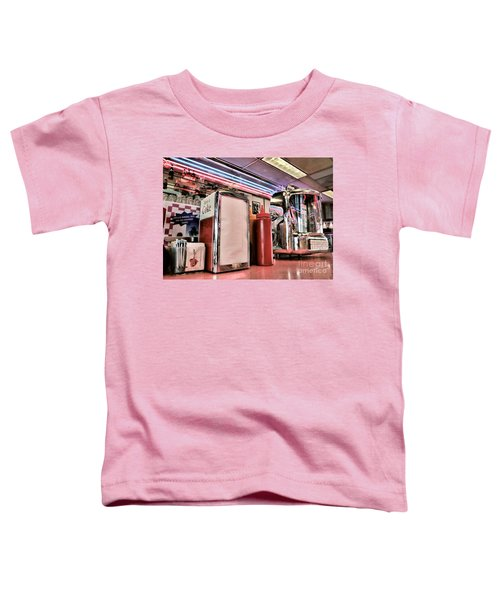 Sitting At The Counter Toddler T-Shirt